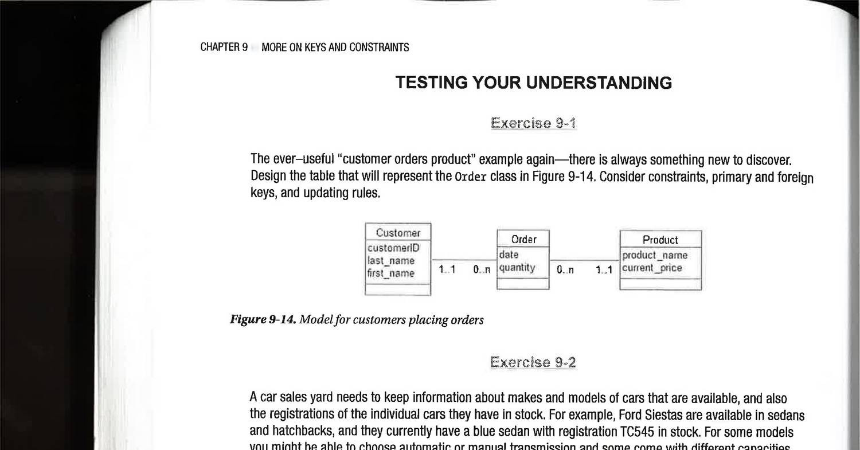 Database design exercise.pdf | DocDroid