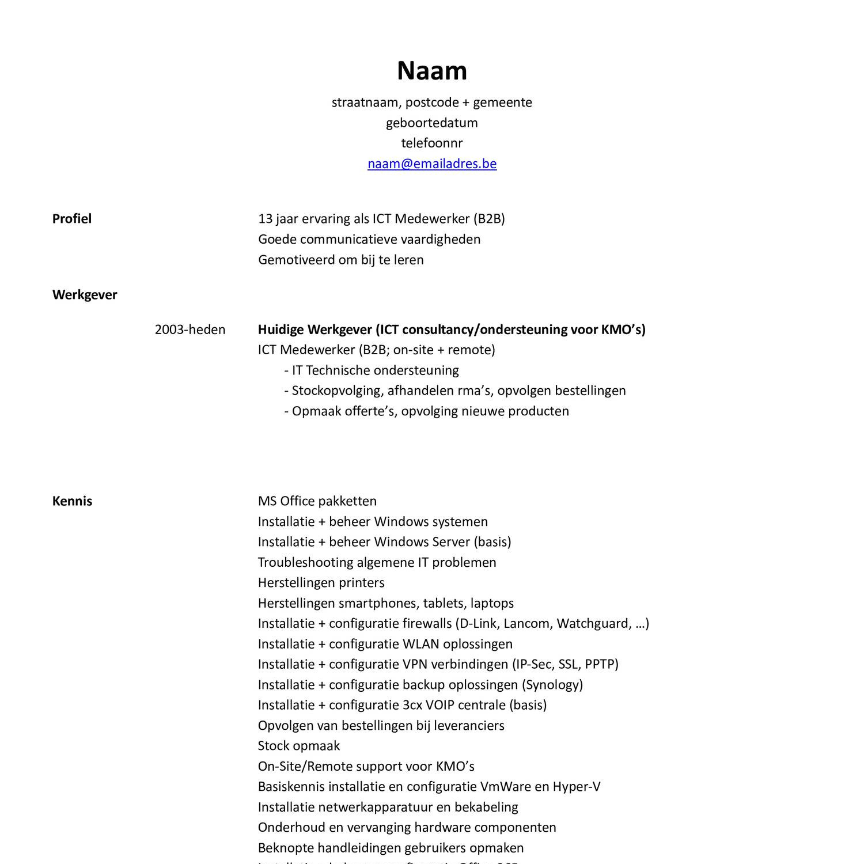 cv demo pdf