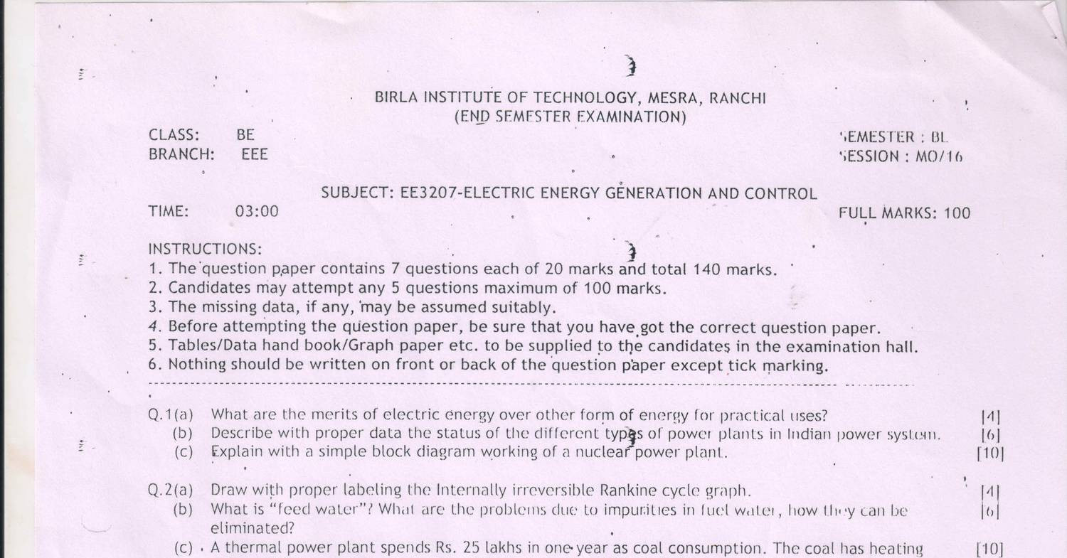 Question Paper Eegcpdf Docdroid Nuclear Power Plant Diagram Labeled