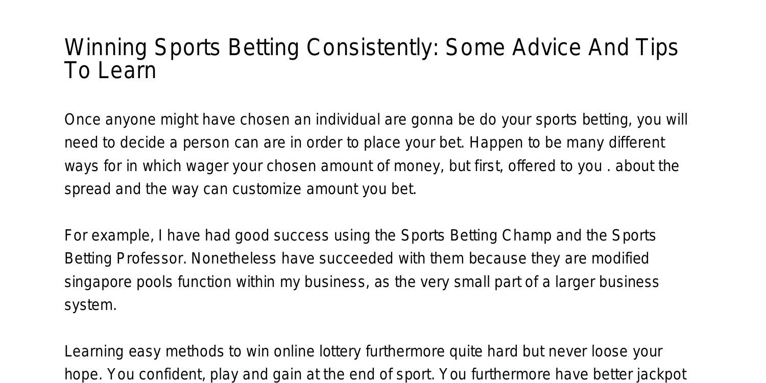 Sports betting champ pdf cryptocurrency marketplace homes