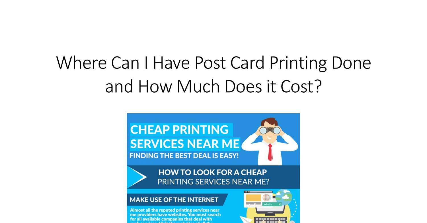 Cheap Post Cards Printing Pdf Docdroid
