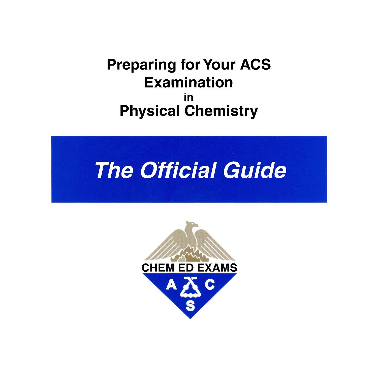 Physical Chemistry Exam Study Guide - American Chemical Society, 2009.pdf |  DocDroid
