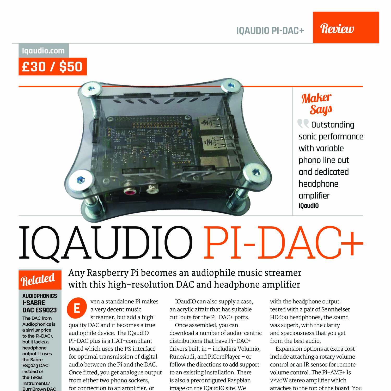 QIAudio DAC Rapsberry Pi - 1 pdf   DocDroid