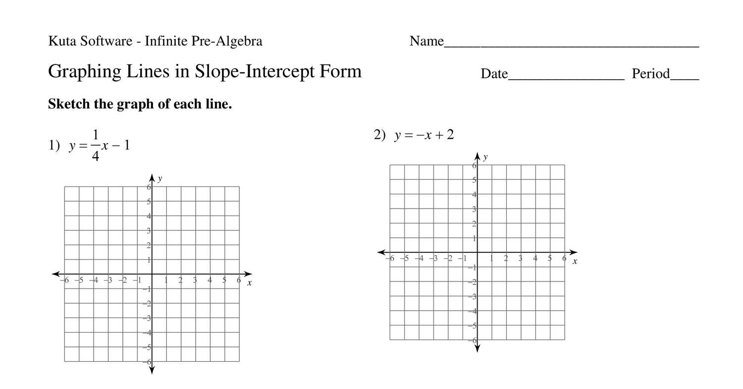 graphing linear equations using intercepts worksheet answers tessshebaylo. Black Bedroom Furniture Sets. Home Design Ideas