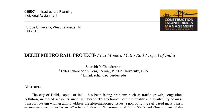 Case_study_of_DELHI_METRO_RAIL_PROJECT-F.pdf | DocDroid