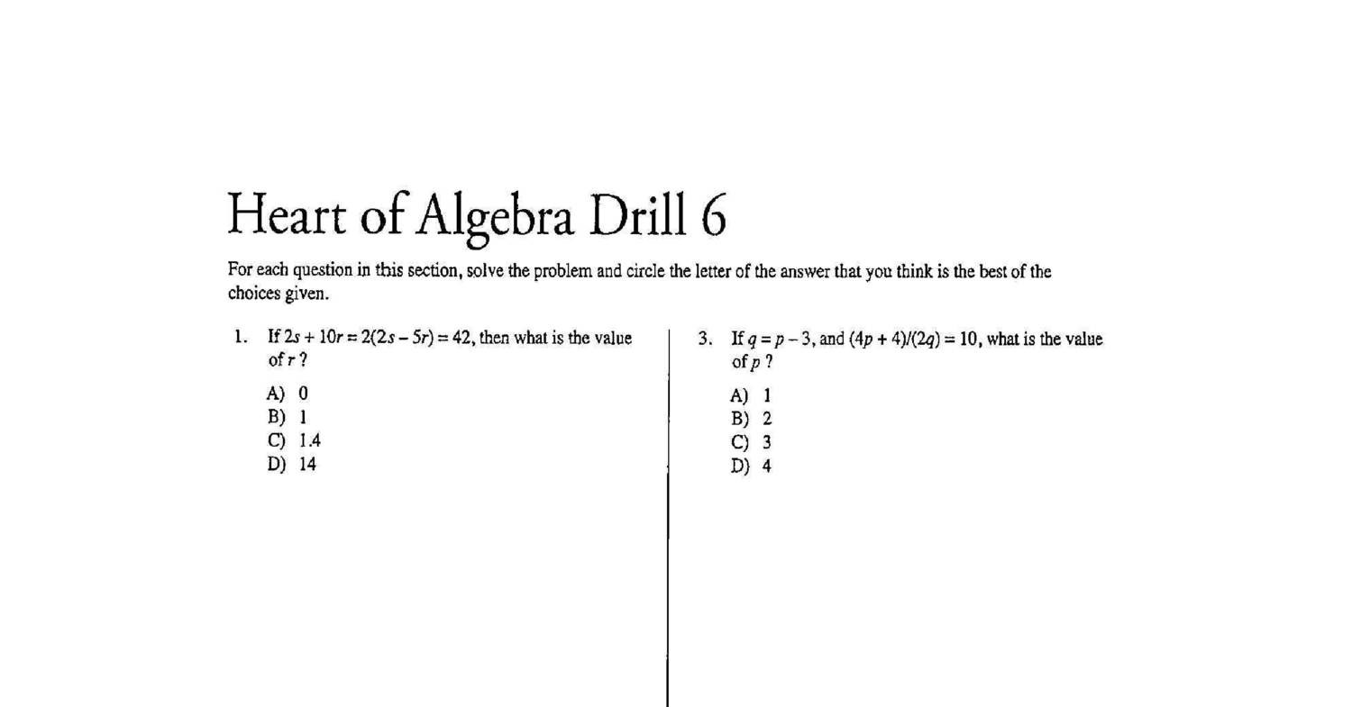 Sat practice test pdf with answers