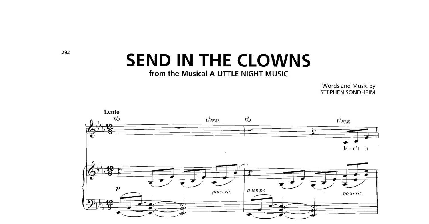A Little Night Music Send In The Clownspdf Docdroid