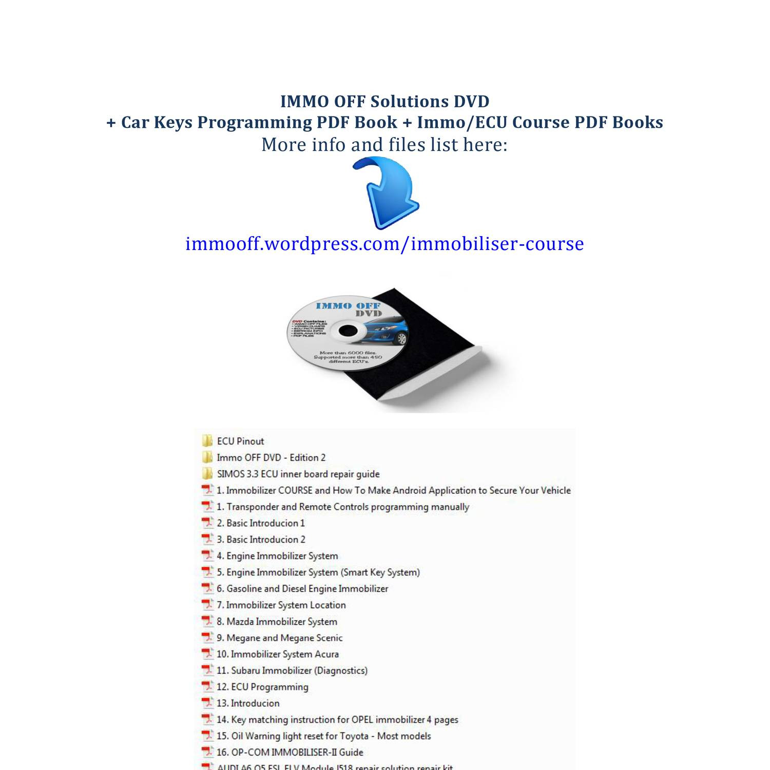 Immo OFF DVD + Course - ENGLISH pdf | DocDroid