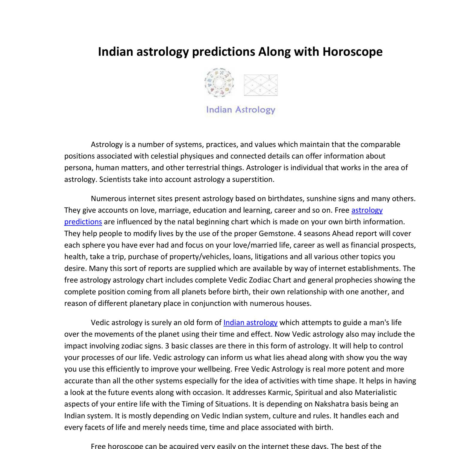 Indian astrology predictions along with horoscopepdf docdroid nvjuhfo Gallery