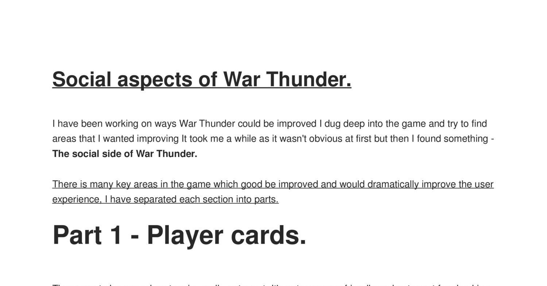 War Thunder pdf | DocDroid