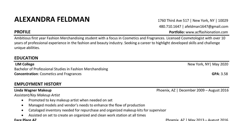 alex feldman resume lim college student docx docdroid