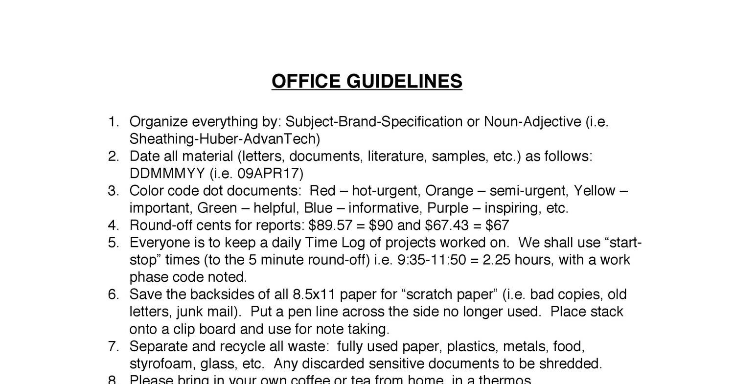 3 Office Guidelines.pdf - DocDroid