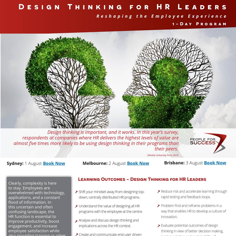 Design Thinking for HR pdf | DocDroid