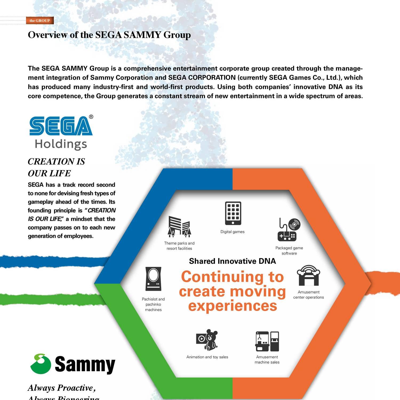 Overview of the SEGA SAMMY Group pdf | DocDroid