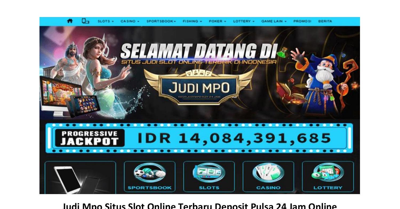 Link Alternatif Judi Mpo Slot Online Terbaru 2020 Pdf Docdroid