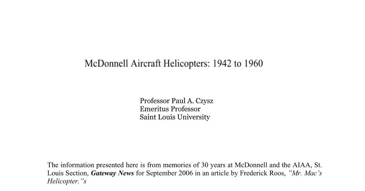 Mr  MAC's Helicopters - Part II pdf | DocDroid