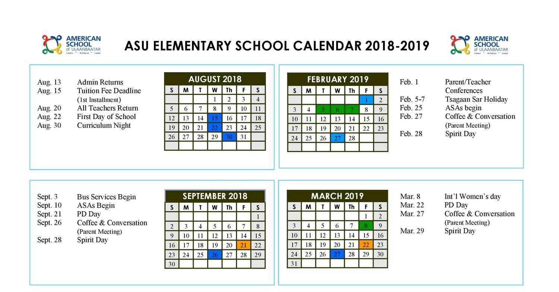 Asu 2019 Calendar ES Calendar 2018 2019.pdf | DocDroid