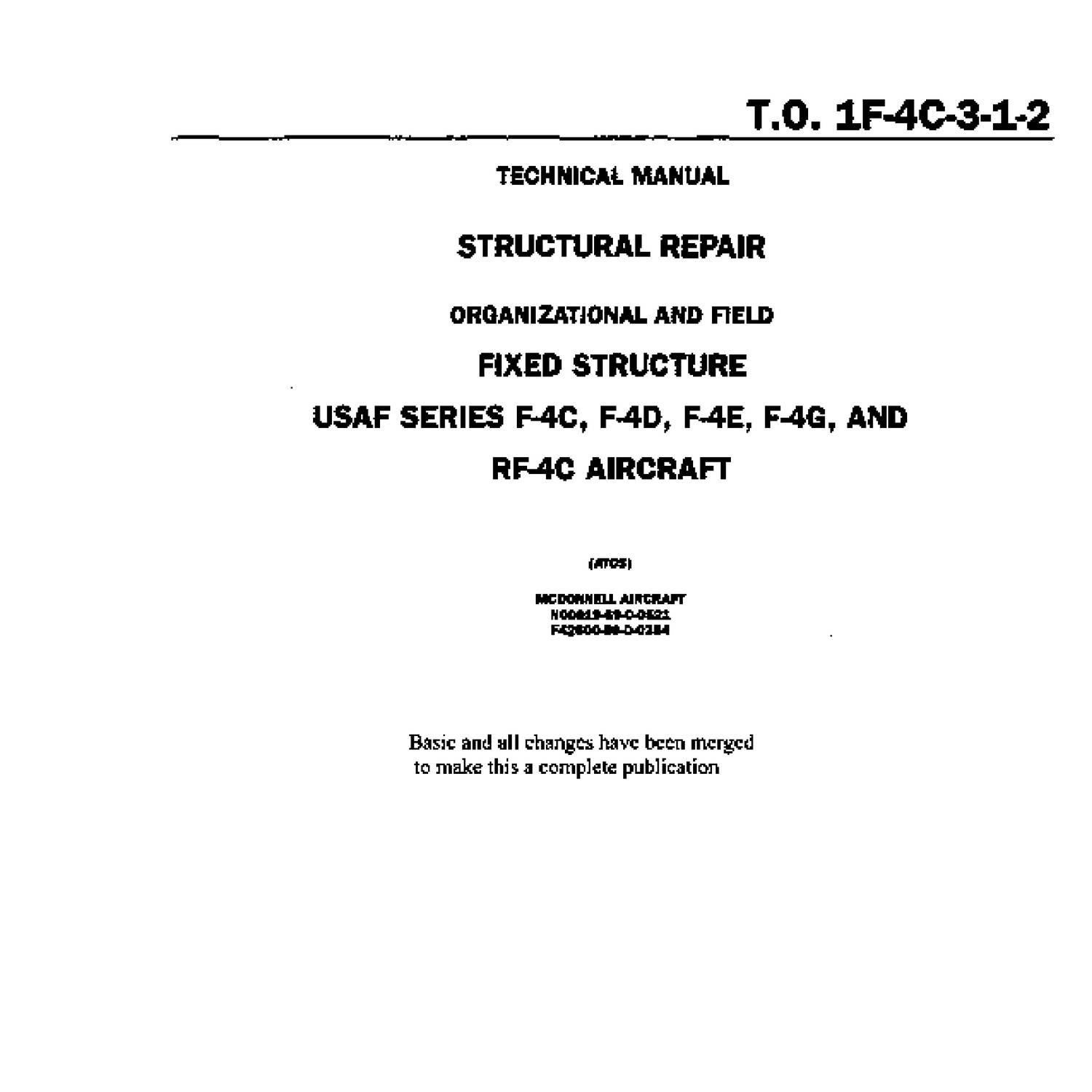 aircraft structural repair manual