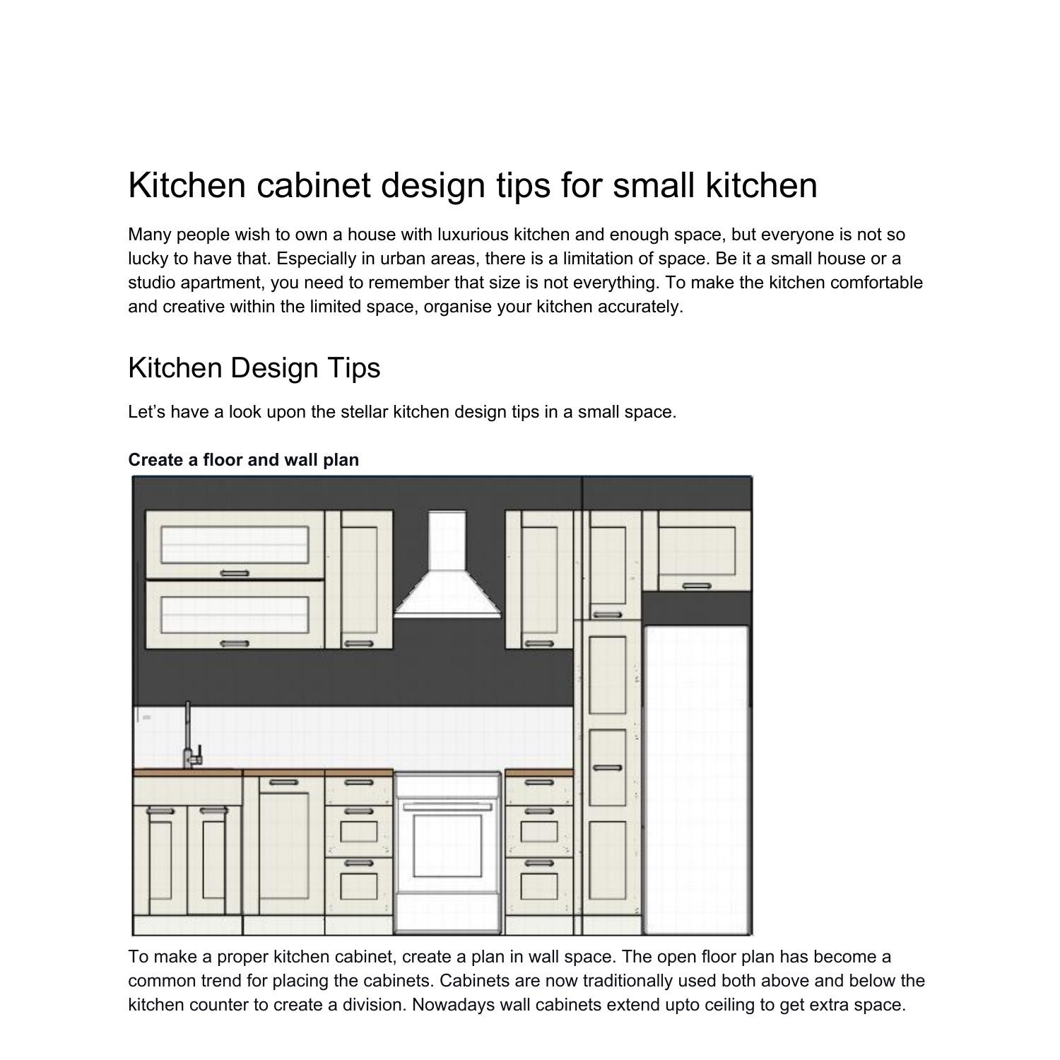 kitchen cabinet design tips for small kitchen 9.pdf   DocDroid