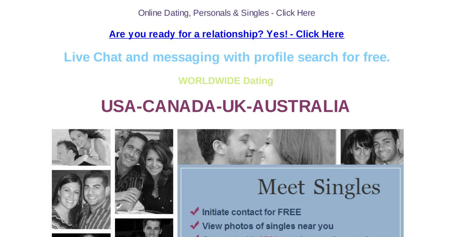 free online dating worldwide
