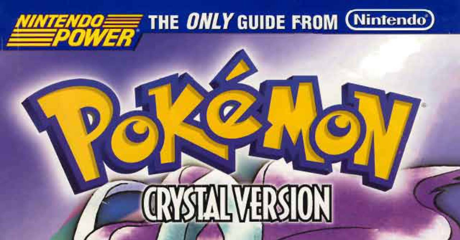 Pokemon crystal dust pokemon locations