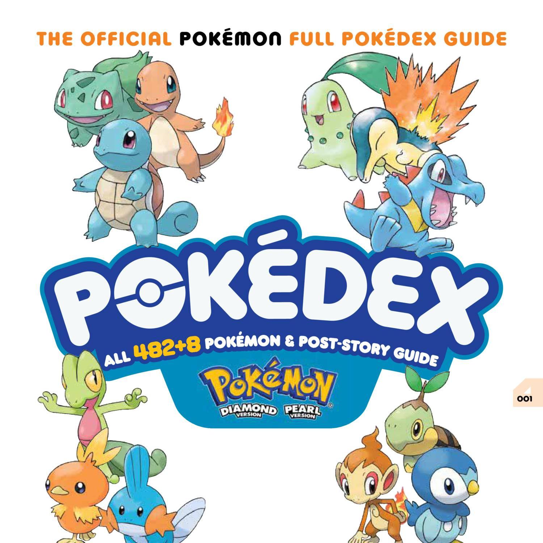 Prima 2007 Pokemon Diamond Amp Pearl Complete Pokedex Pdf Docdroid