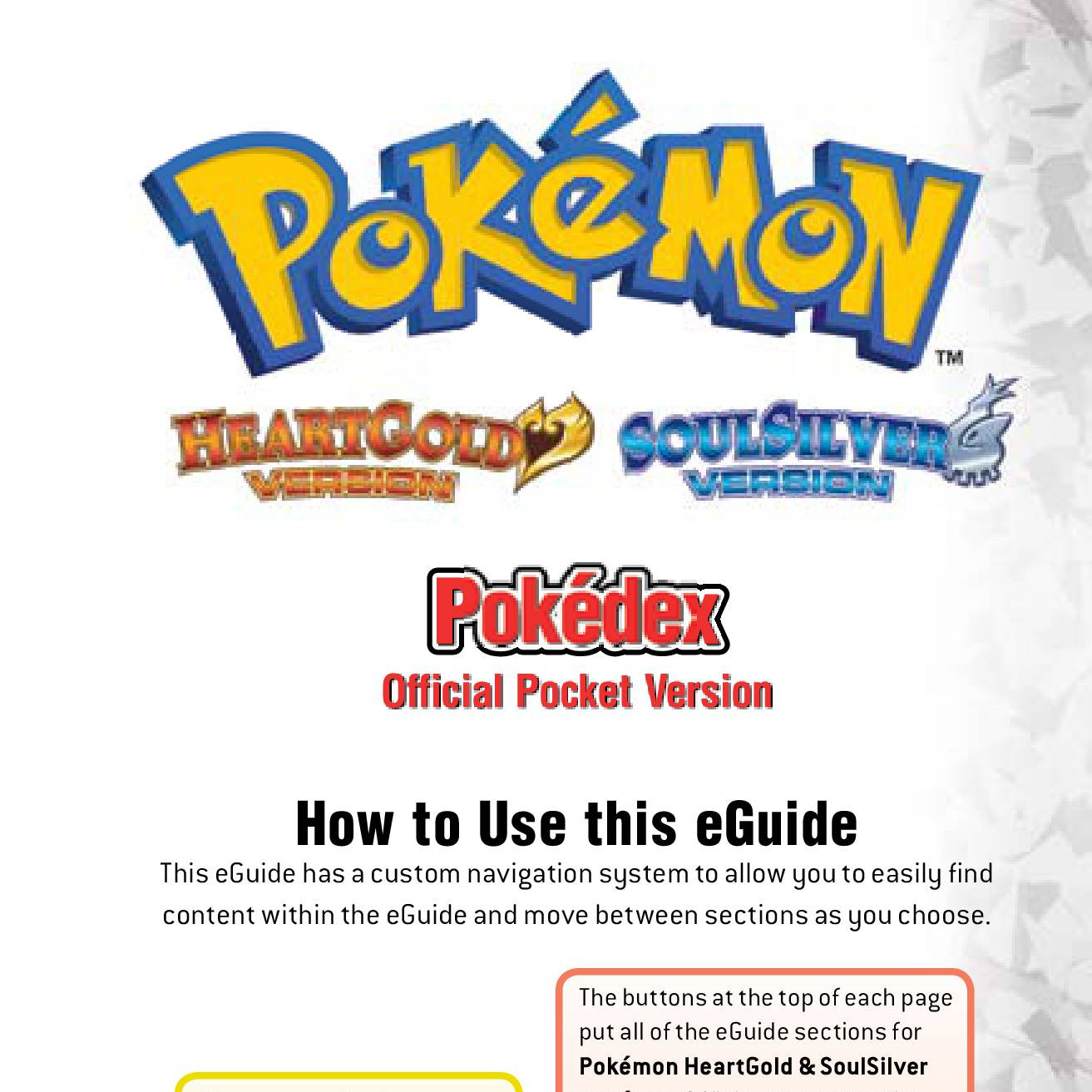 Prima 2010 Pokemon Heartgold Amp Soulsilver Pocket Pokedex Vol 3 Pdf Docdroid