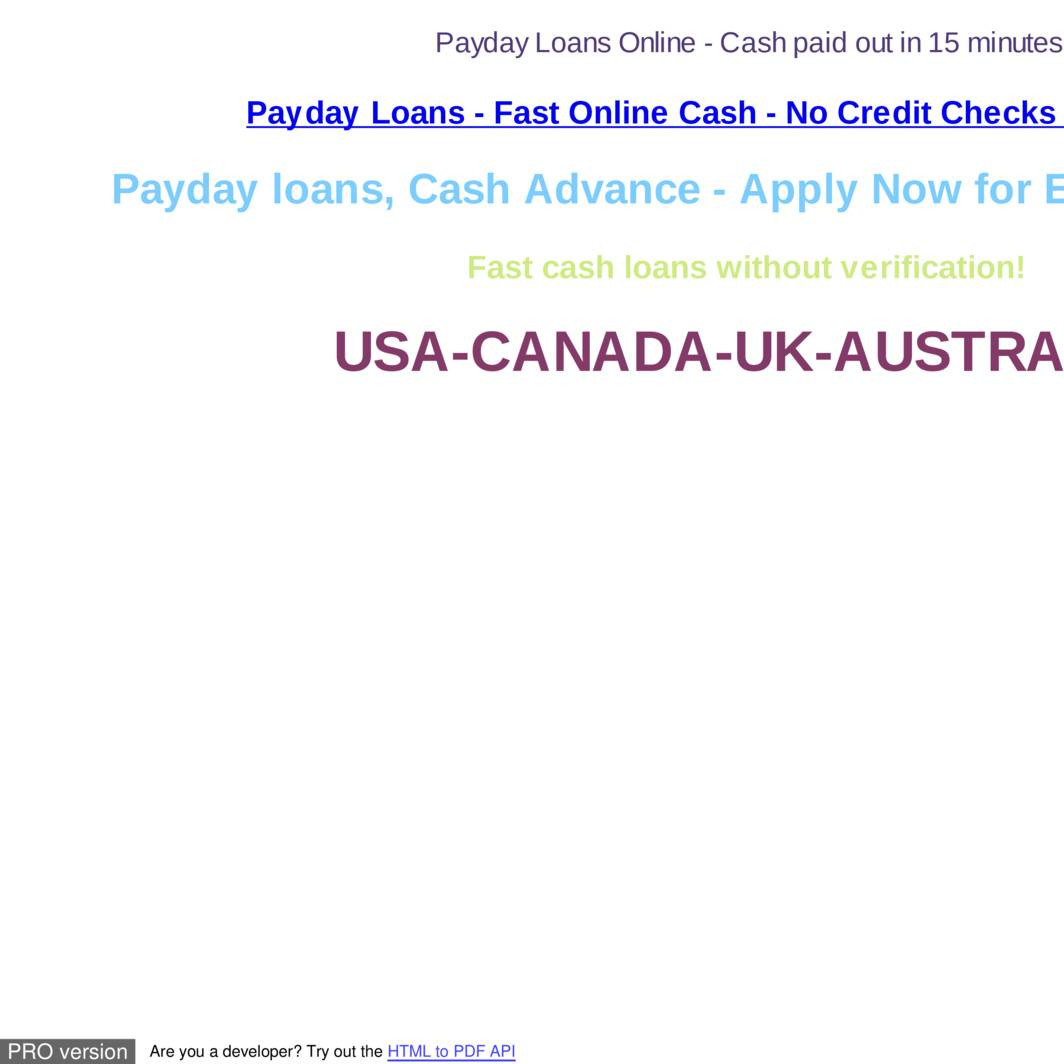 Payday loans safe picture 2
