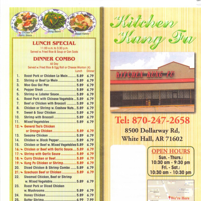 kitchen kung fu menupdf docdroid - Kung Fu Kitchen