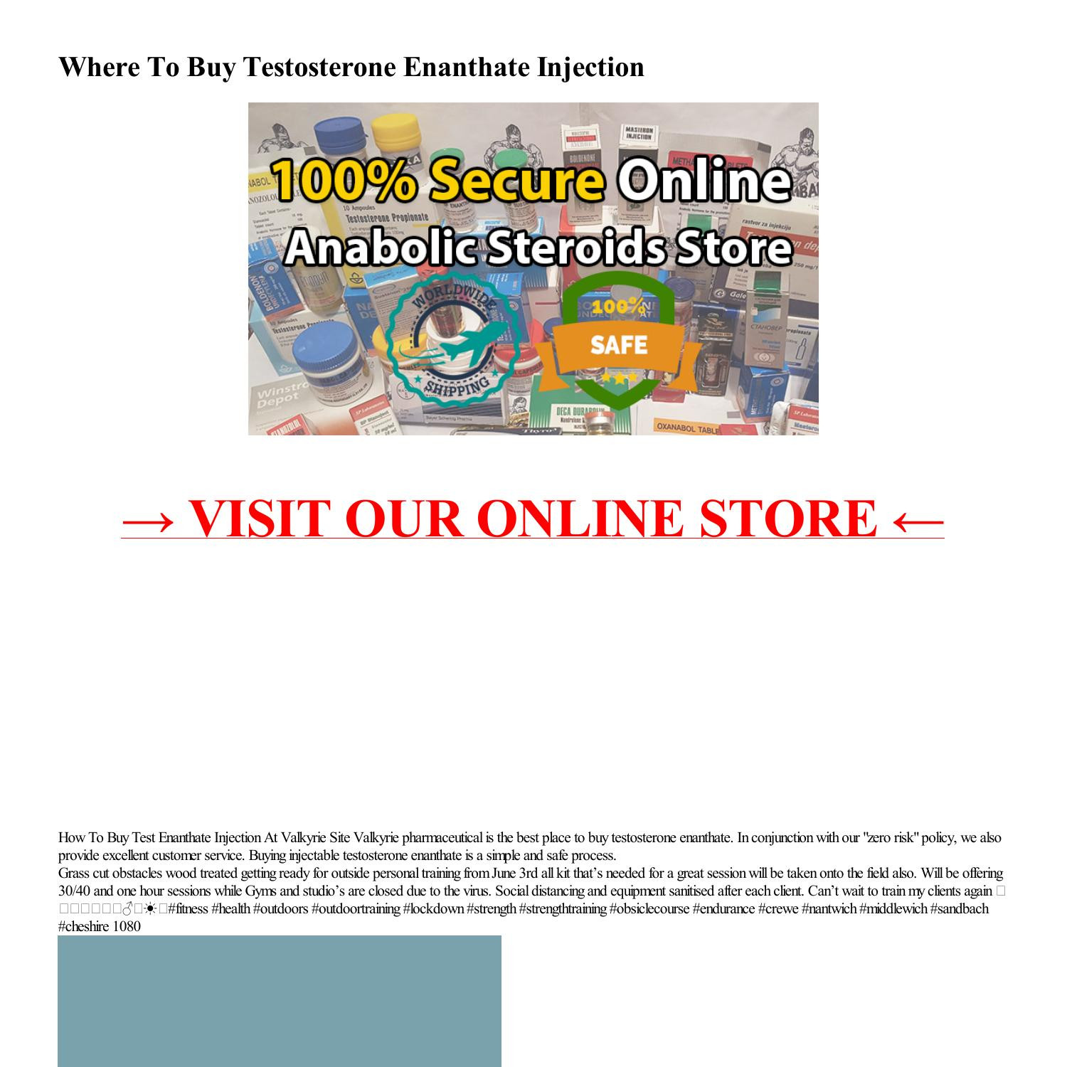 Where To Buy Testosterone Enanthate Injection-html.pdf DocDroid