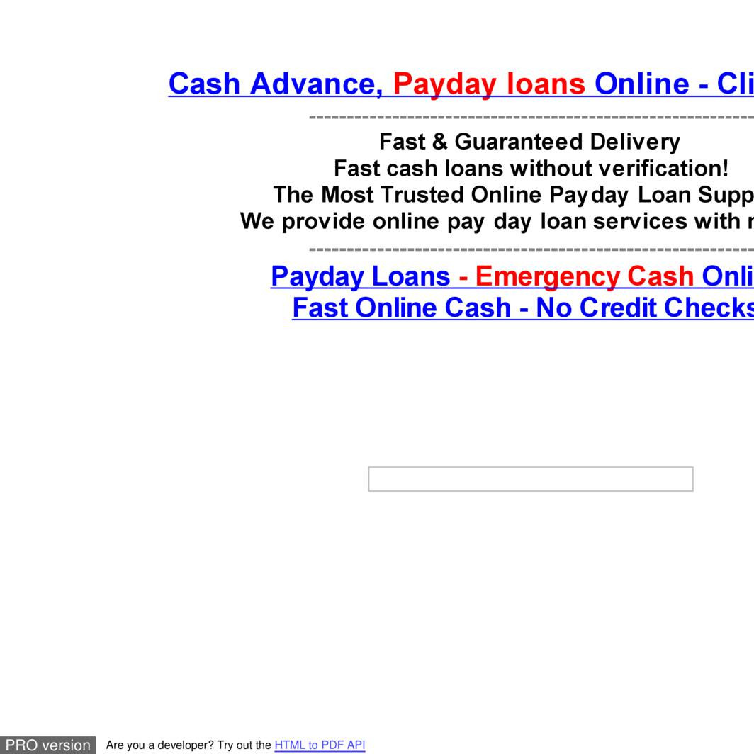 Instant payday loans not brokers photo 8