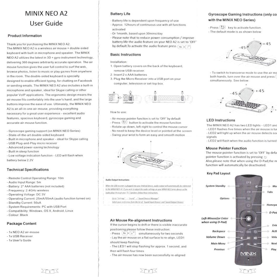 MINIX NEO A2 Air Mouse Manual.pdf   DocDroid