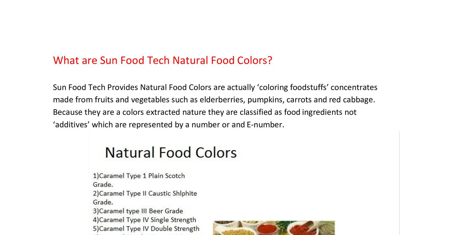 Natural food colors presentation.pdf | DocDroid