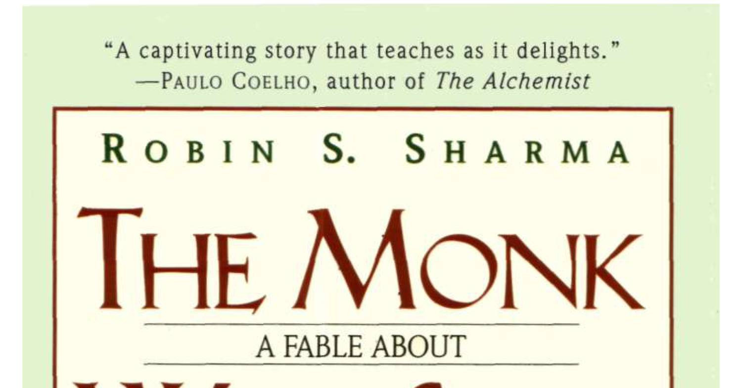 Ebook The Monk Who Sold His Ferrari Robin S Sharma Pdf
