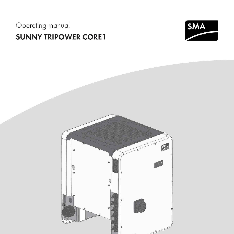 Scan To Pdf Stp 1 50 Free Download: SMA STP Core 1 50kW 50-40 Operating Manual.pdf
