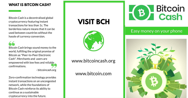Bitcoin Cash Gen Pamphlet 1 Pdf Docdroid -