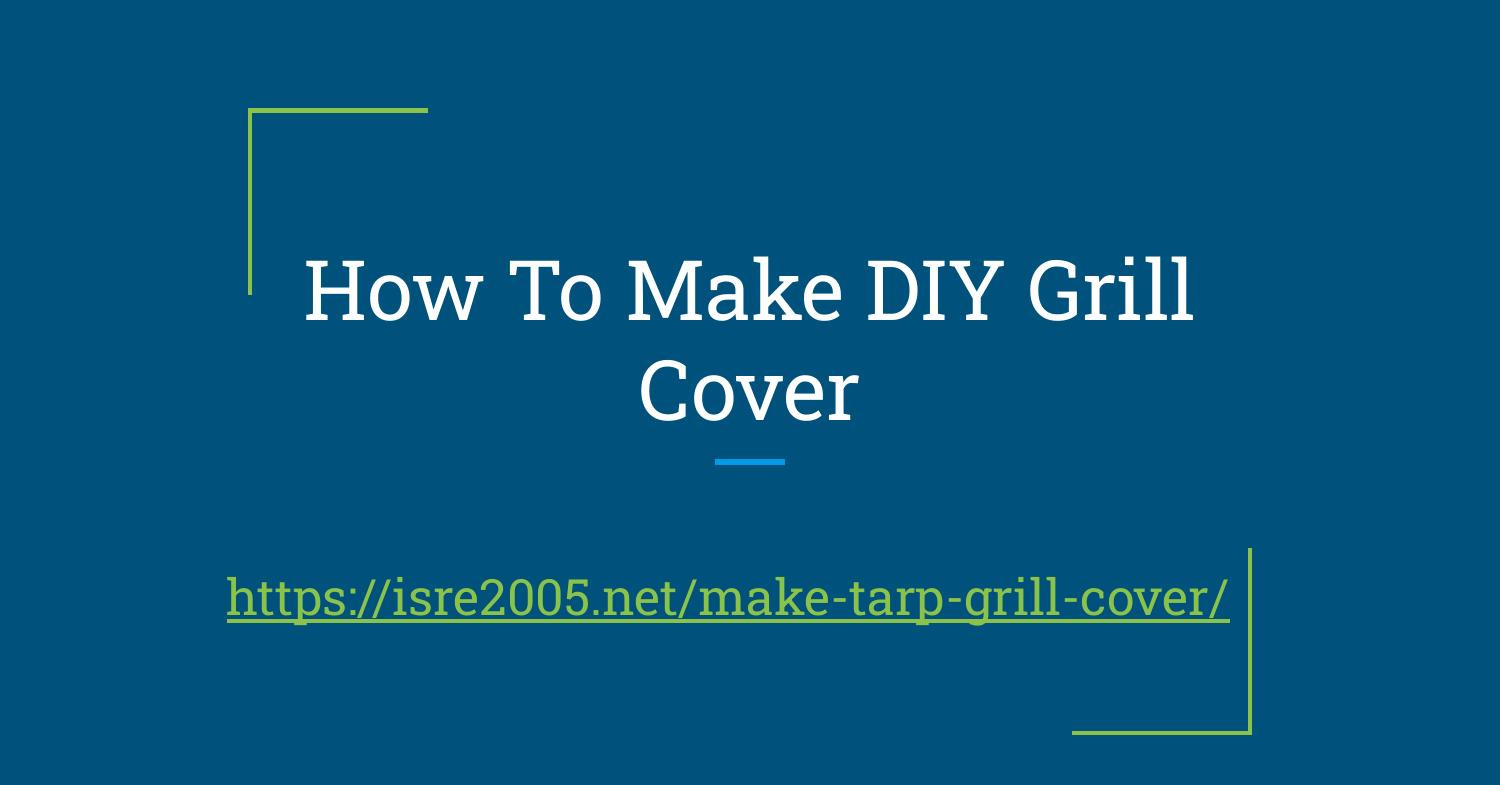 How To Make DIY BBQ Cover.pdf