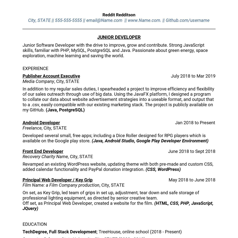 Anonymized Dev Resume pdf | DocDroid