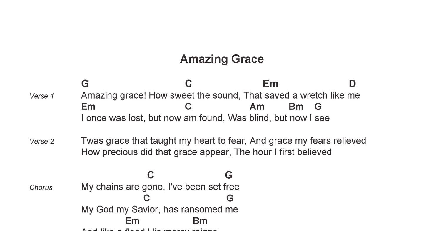 Amazing Grace   Chord Chart   Space City Hymns.pdf   DocDroid