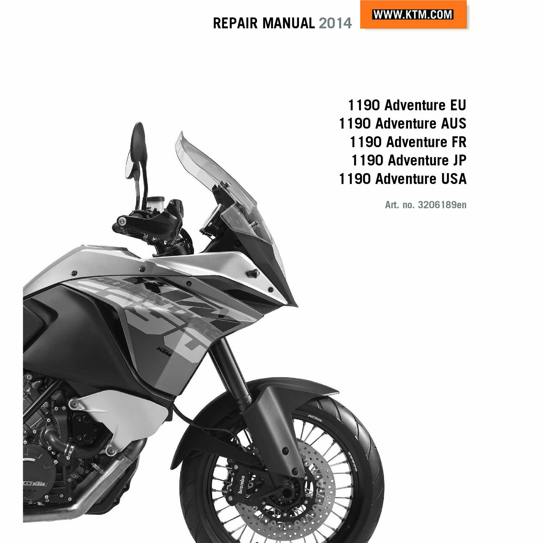 Adventure Motorcycle Maintenance Manual Pdf