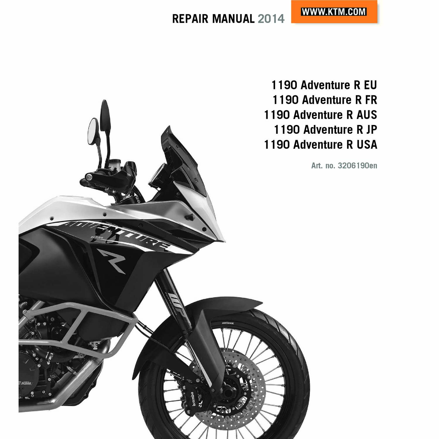 ktm adventure r 2014 service manual pdf - docdroid