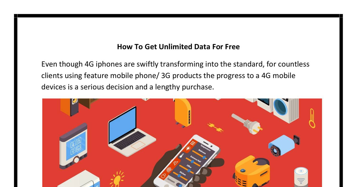 How To Get Unlimited Cell Data For Free pdf | DocDroid