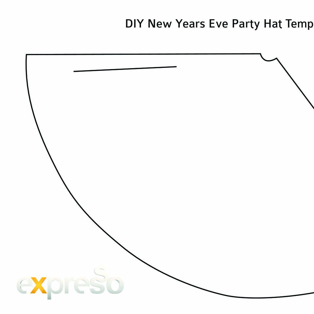 diy new years eve party hat templatepdf docdroid