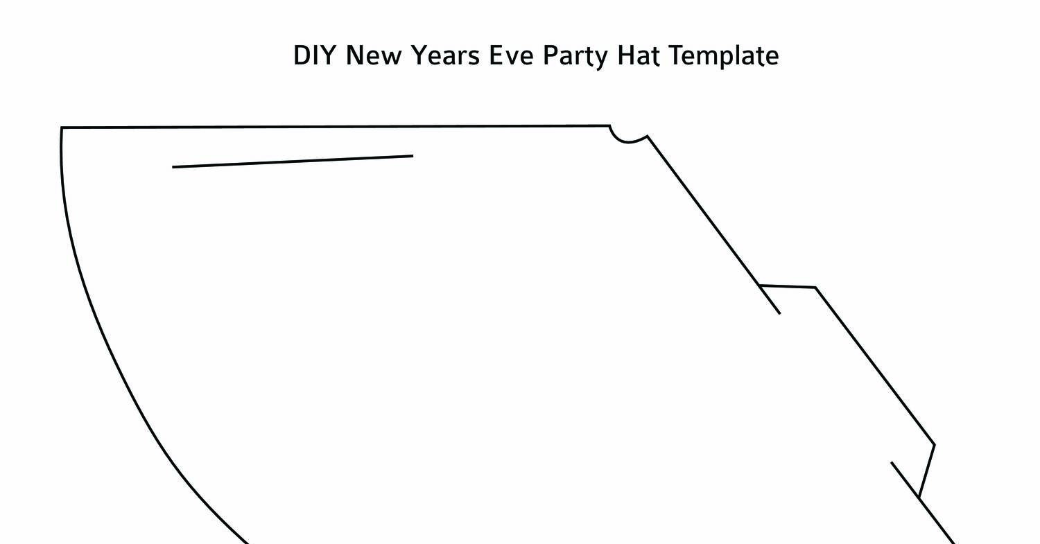 Free printable 2018 new year's party hat activity & craft! (3.
