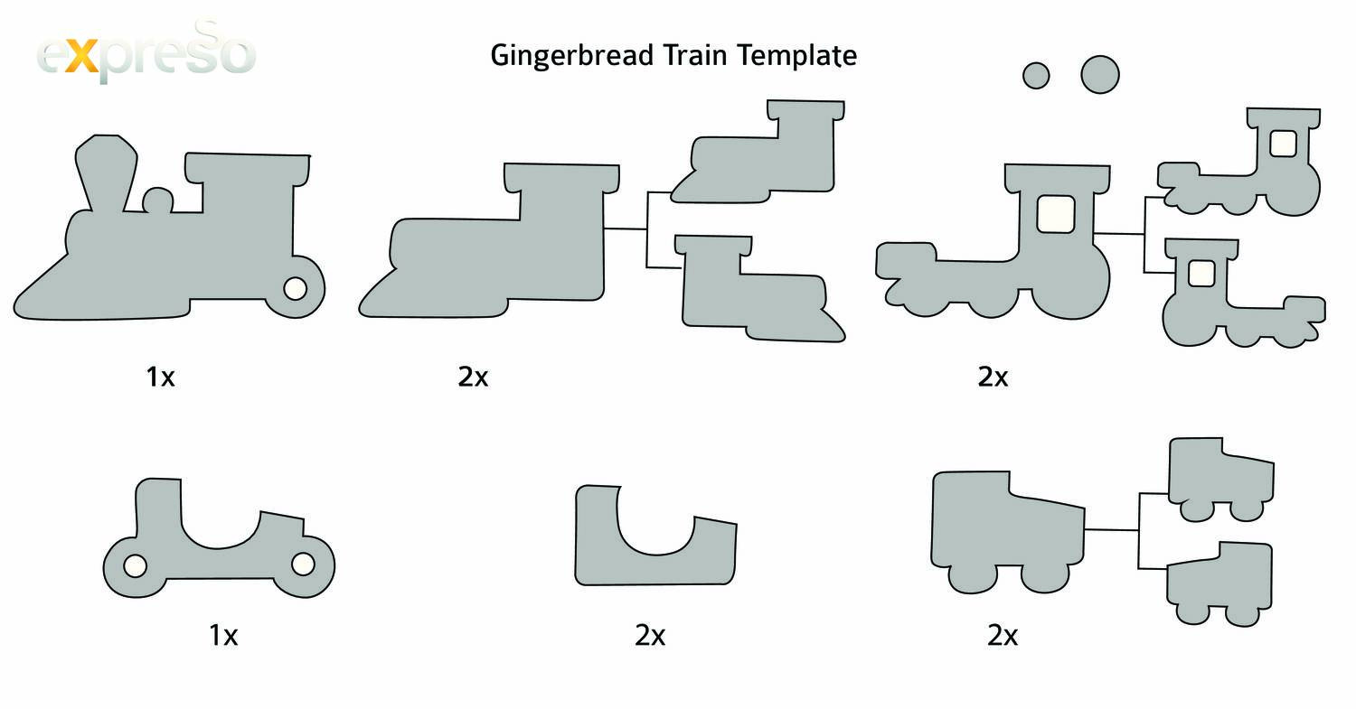 Gingerbread Train Template Pdf Docdroid