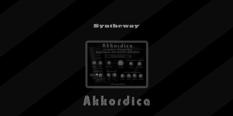 Akkordica Virtual Accordion, Harmonica and Melodica VST for