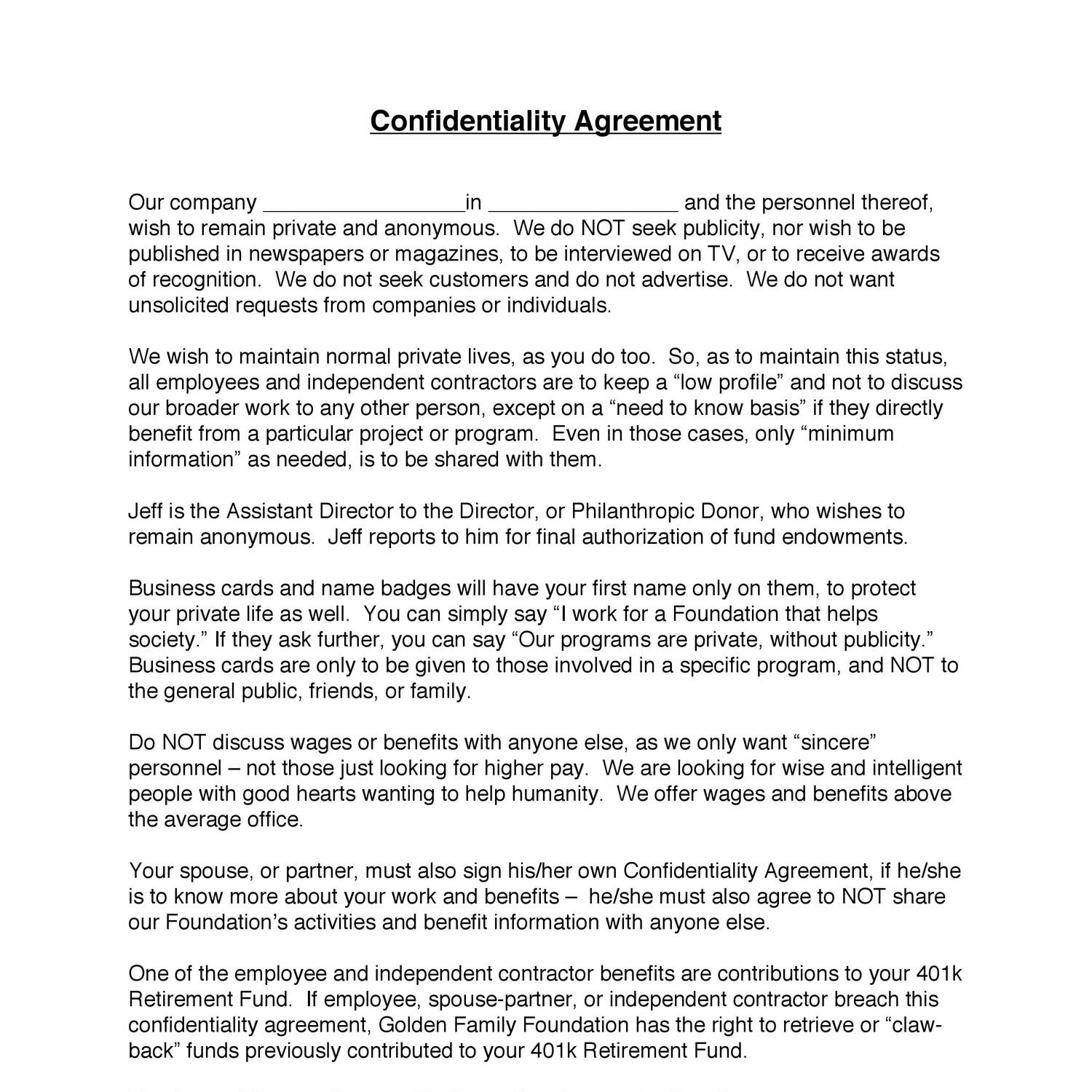 3 Confidentiality Agreement 2pdf Docdroid