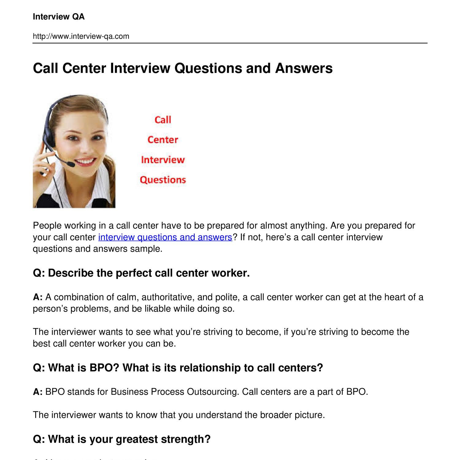 call-center-interview-questions-and-answers.pdf | DocDroid