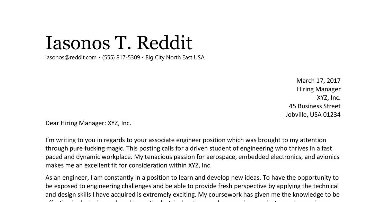 Cover Letter Reddit.pdf | DocDroid