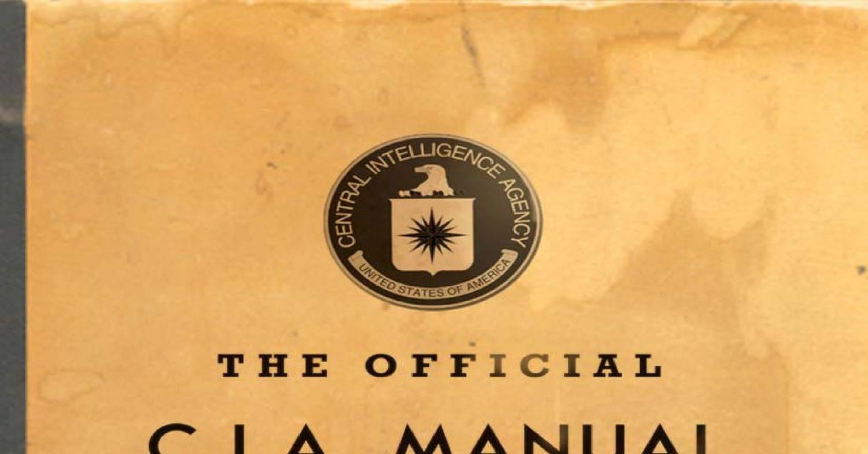 Cia Spy manual pdf
